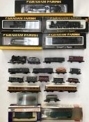 Railway: A collection of assorted N gauge Graham Farish locomotives to include 372-204 3F Jinty BR