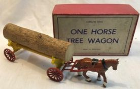 Charbens: A boxed Charbens One Horse Tree Wagon, in original box. In good condition.