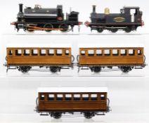 Caledonian: An O gauge, kit built, 0-6-0, Tank Locomotive, Caledonian Railway, '1509', unknown