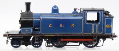 Caledonian: An O gauge, kit built, 4-4-0, locomotive, Caledonian Railway, '2', unknown manufacturer.
