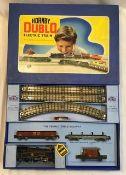 Hornby: A boxed Hornby Dublo OO gauge 3-rail EDG18 train set in very good original condition.