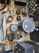 unit 585B, Electrical Test Equipment, Fuel Gun, Green Satin box