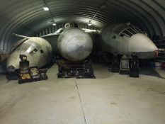 We are pleased to be offering a unique private collection of part restored V Bomber cockpits, along