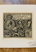 GB - Postal Union Congress - SG 438 £1 value. Mounted mint. Fine copy though the gum is starting