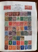 Stamps. Mid-20th century used worldwide collection in Liberty album, small range of earlier