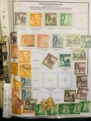 Stamps. Used worldwide collection in 20 binders, two slim albums and loose. The Americas, Russia,