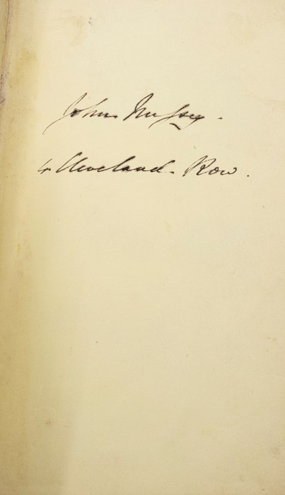 ***OBJECT LOCATION BISHTON HALL ***Gaskell, Elizabeth. The Life of Charlotte Bronte, first edition, - Image 9 of 10