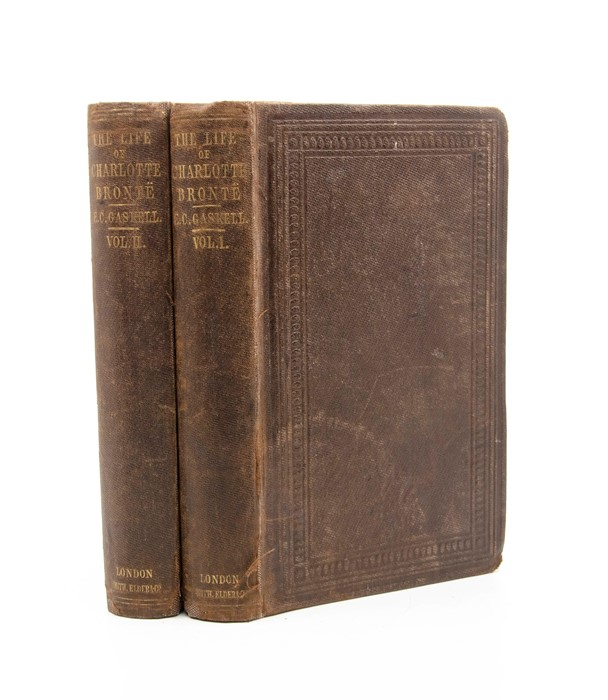 ***OBJECT LOCATION BISHTON HALL ***Gaskell, Elizabeth. The Life of Charlotte Bronte, first edition, - Image 6 of 10