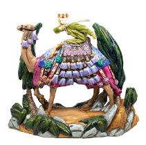 A Michael Sutty large fine china limited edition figure of Lawrence of Arabia, sculpture no: 6 and