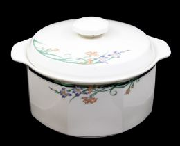 A Royal Doulton fine china Juno pattern tureen and cover Provenance Baroness Boothroyd