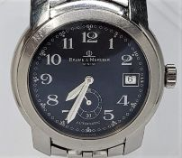 A Baume & Mercier Capeland stainless steel gentleman's automatic bracelet watch, ref.MV045221,