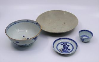 A collection of Chinese porcelain, to include three pieces from the notable Christies Nanking