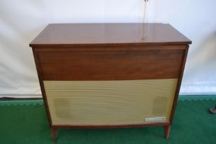 A Ferguson radiogram, in a teak veneered cabinet, circa 1960s