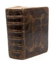 Holy Bible. Old and New Testament, bound with Psalms and Common Prayer, each bearing separate title: