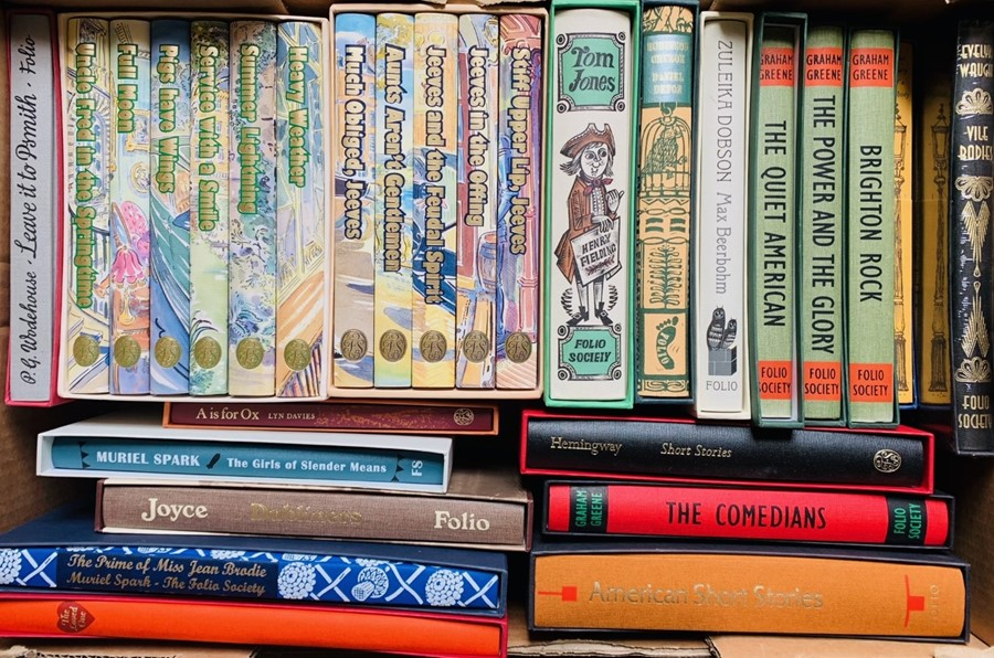 Folio Society. Collection in slipcases, including some sets, predominantly 20th-century fiction, - Image 2 of 3