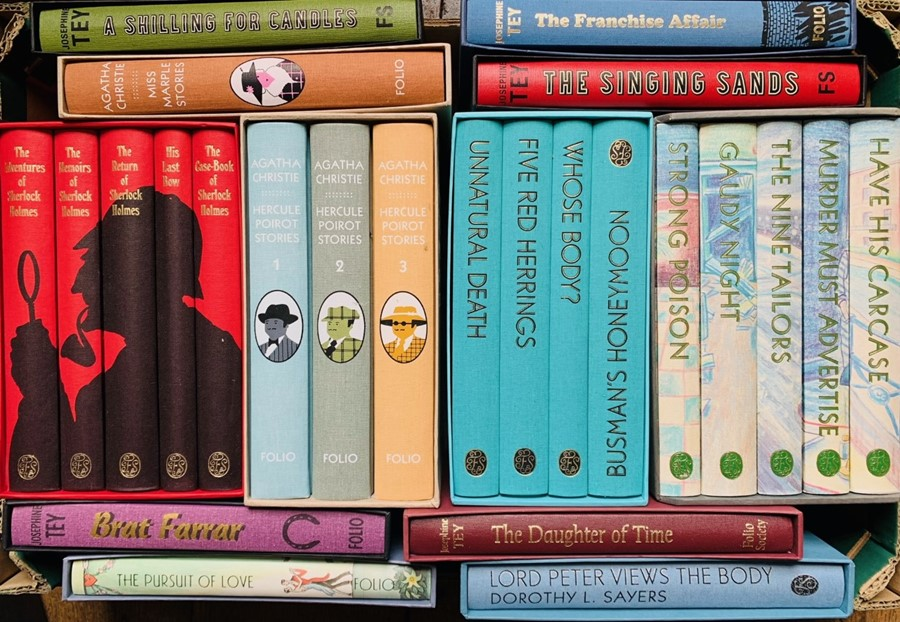 Folio Society. Collection in slipcases, including some sets, predominantly 20th-century fiction,