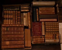 Bindings. Collection of 19th- & 20th-century books, leather bindings, many bearing bookplates for
