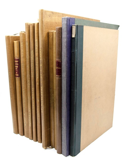 Architectural Interest. Collection of books, comprising: four Batsford publications by Tunstall