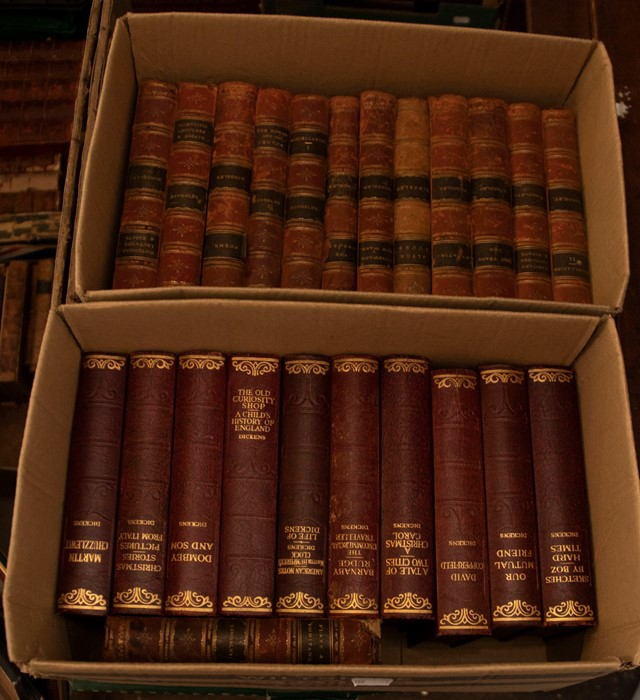 Bindings. Collection comprising: Kingsley, Charles. The Works, in 19 volumes, London: Macmillan, - Image 2 of 2