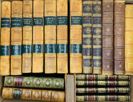 Association bindings. Collection of 19th-century books with a connection to Baddesley Clinton in