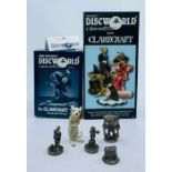 Clarecraft. Terry Pratchett's Discworld Characters. Collection of five figurines: Dangerous Beans (