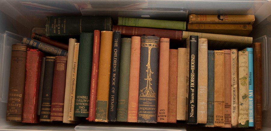 Collection of books, some bearing owner inscriptions of Briton Riviere RA (1840-1920), some with - Image 2 of 2