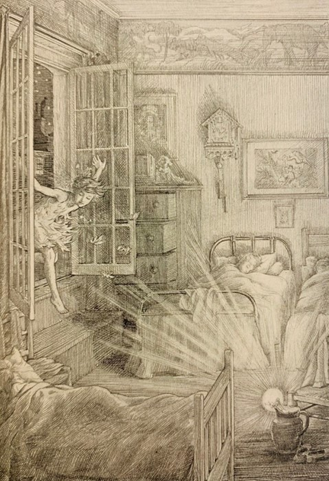Barrie, J. M. Peter and Wendy, illustrated by F. D. Bedford, first edition, London: Hodder & - Image 3 of 3