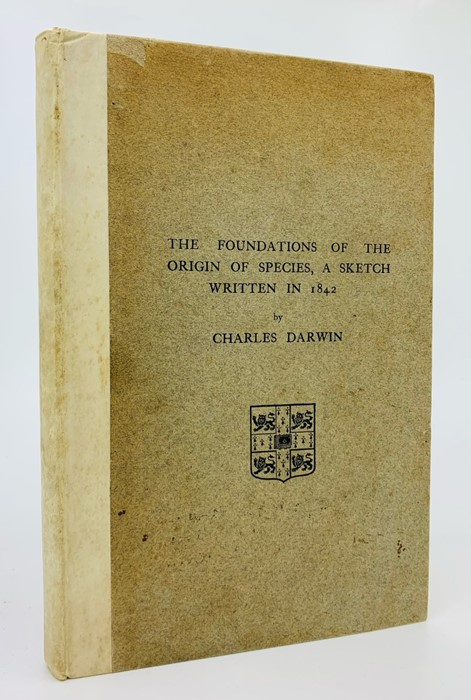 Darwin, Francis (Ed.). The Foundations of the Origin of Species, A Sketch Written in 1842, by