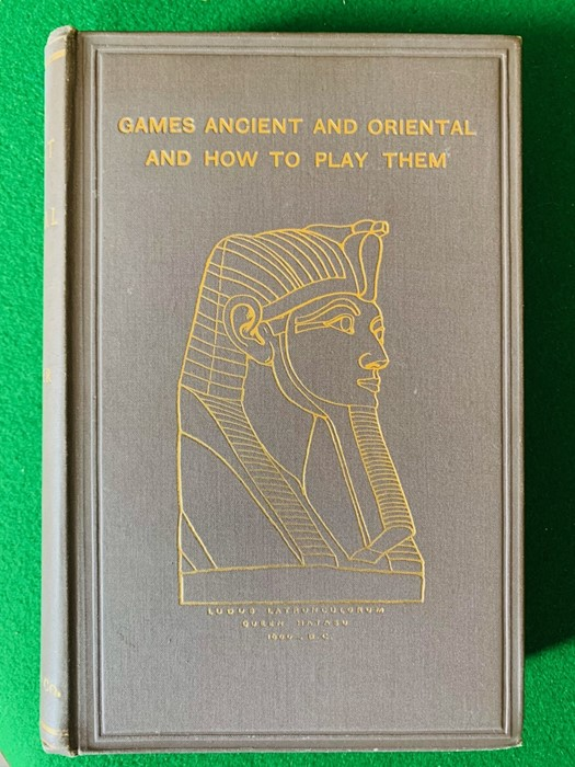 Collection of books to include Games Ancient and Oriental and How to Play Them, by Edward - Image 2 of 5