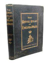 Bartholomew, J. G. The Royal Atlas of England and Wales, London, [c.1899]. Folio, publisher's