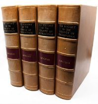Lipscomb, George. The History and Antiquities of the County of Buckingham, in four volumes,