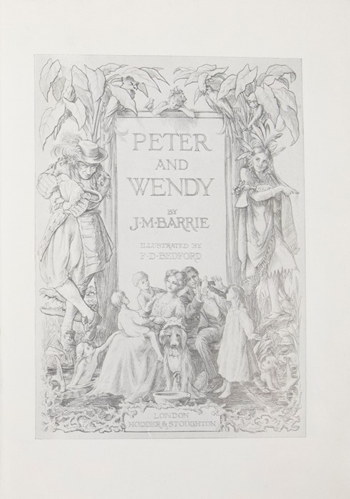 Barrie, J. M. Peter and Wendy, illustrated by F. D. Bedford, first edition, London: Hodder & - Image 2 of 3