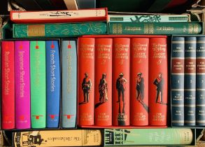 Folio Society. Collection in slipcases, predominantly classics, fiction, short stories, nursery