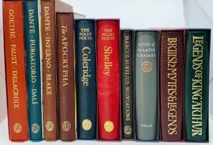 Folio Society. Leather-bound collection, comprising: Purgatorio, by Dante Alighieri, illustrated