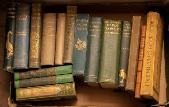 Collection of books, predominantly botanical/gardening and natural history, to include As the