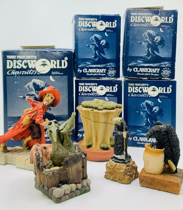 Clarecraft. Terry Pratchett's Discworld Characters. Collection of five figurines: Death of Rats (