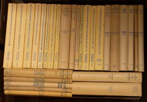 Miscellaneous volumes from Buckinghamshire Record Office, various subjects, uniformly bound in cream