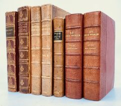 Miscellaneous collection of books, to include Observations and Reflections Made in the Course of a