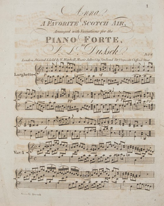 Corelli, Arcangelo. Opera Prima, XII Sonatas of three parts for two Violins and a Bass, with A - Image 3 of 3
