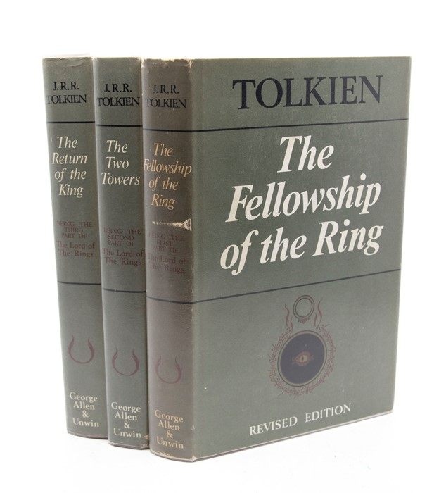 Tolkien, J. R. R. The Lord of the Rings trilogy, second editions, first impressions, London: