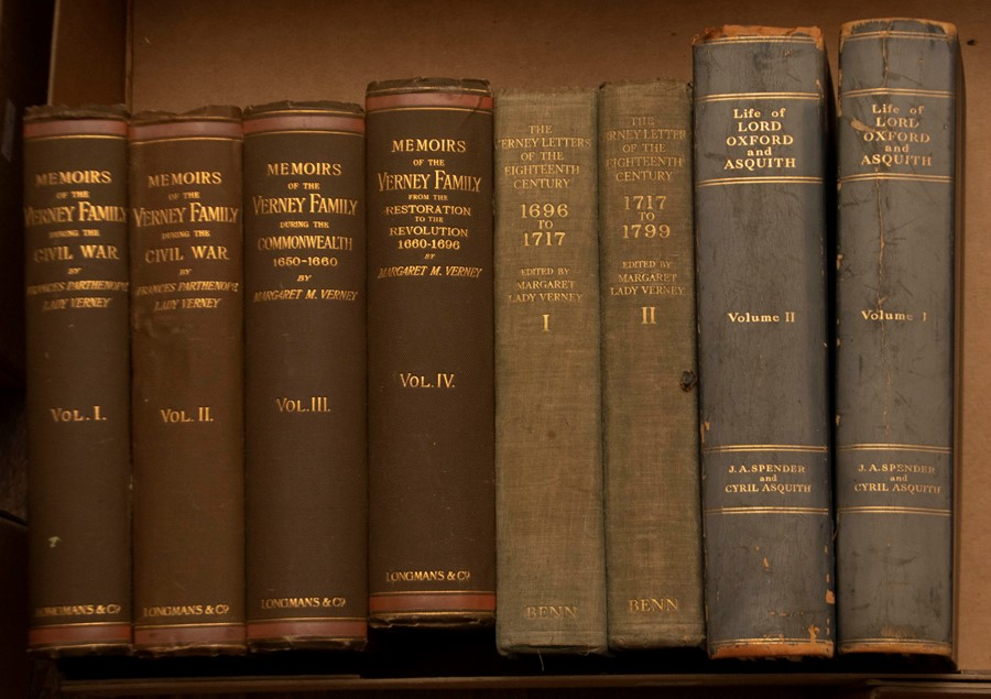 Miscellaneous History & Biography. Small collection, comprising: Life of Herbert Henry Asquith, Lord