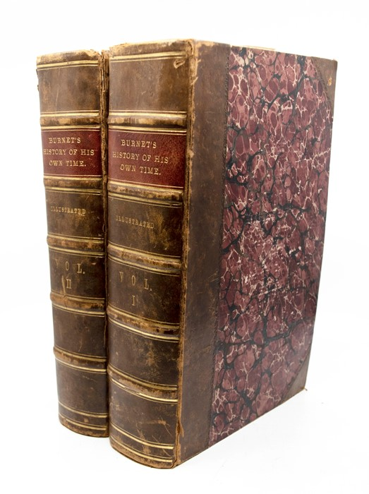 Burnet, [Gilbert]. Bishop Burnet's History of His Own Time, first edition, in two volumes, London: