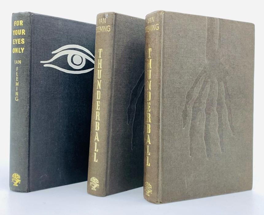 Fleming, Ian. Thunderball, first edition, London: Jonathan Cape, 1961. Octavo, publisher's dark
