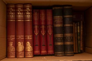Collection of books, military history and late-Victorian religious works for children, to include