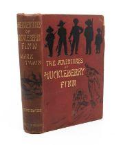 Twain, Mark. The Adventures of Huckleberry Finn, first UK edition (precedes first US edition),
