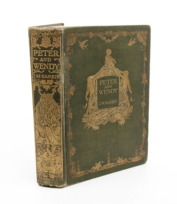 Barrie, J. M. Peter and Wendy, illustrated by F. D. Bedford, first edition, London: Hodder &