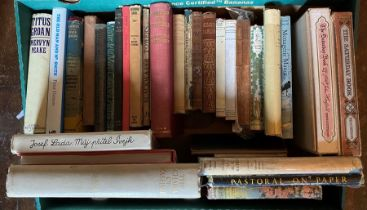 Mixed collection of books, some first editions, to