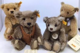Steiff Bears to include limited edition 038129 Appolonia, 660337 with growler, 654527, 006418, along