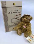 Steiff limited edition Bear, Steiff Sommer 2006. Limited number 01263 of 2006. Boxed but no