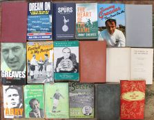 A collection of assorted football books to include: The Official History of the F.A. Cup; The